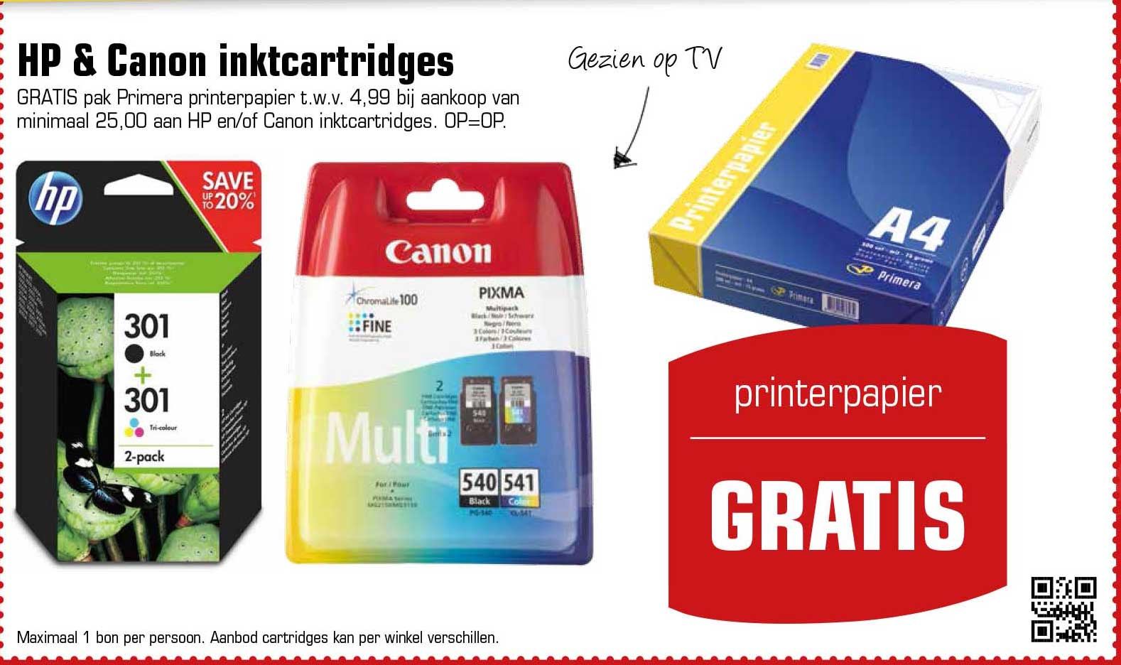 Primera HP & Canon Inktcartridges