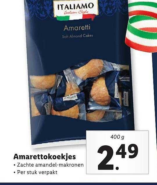Lidl Amarettokoekjes