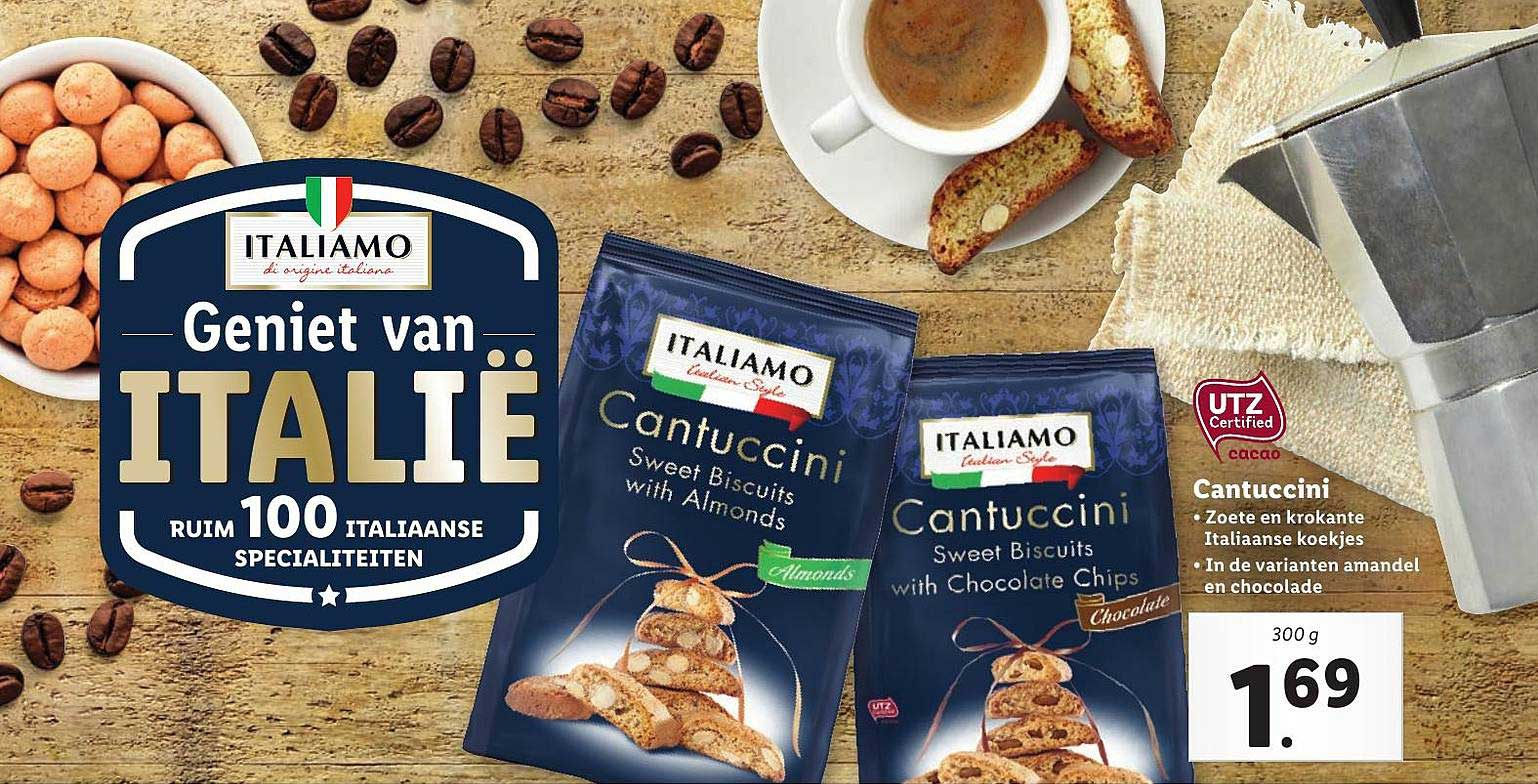 Lidl Cantuccini