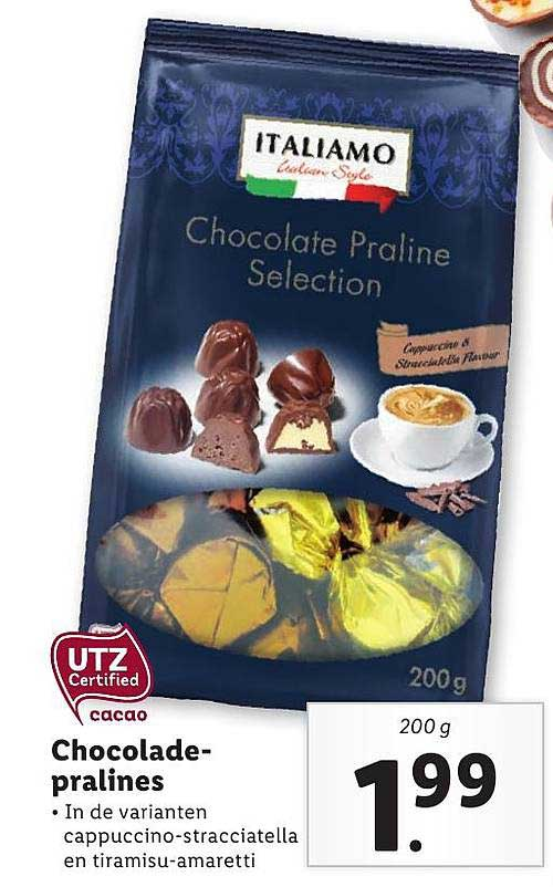 Lidl Chocolade-Pralines