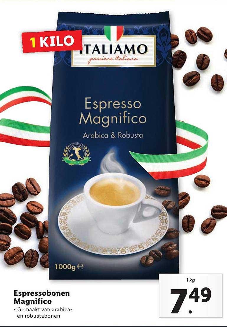 Lidl Espressobonen Magnifico