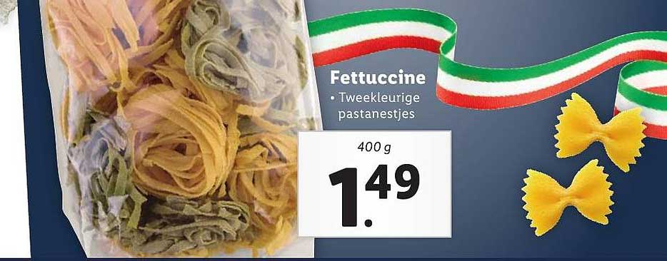 Lidl Fettuccine