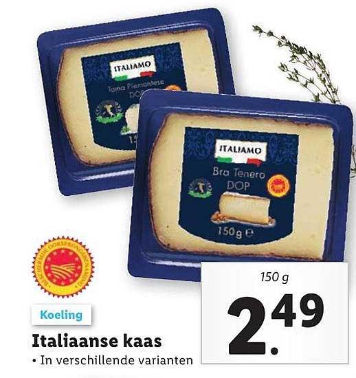 Lidl Italiaanse Kaas