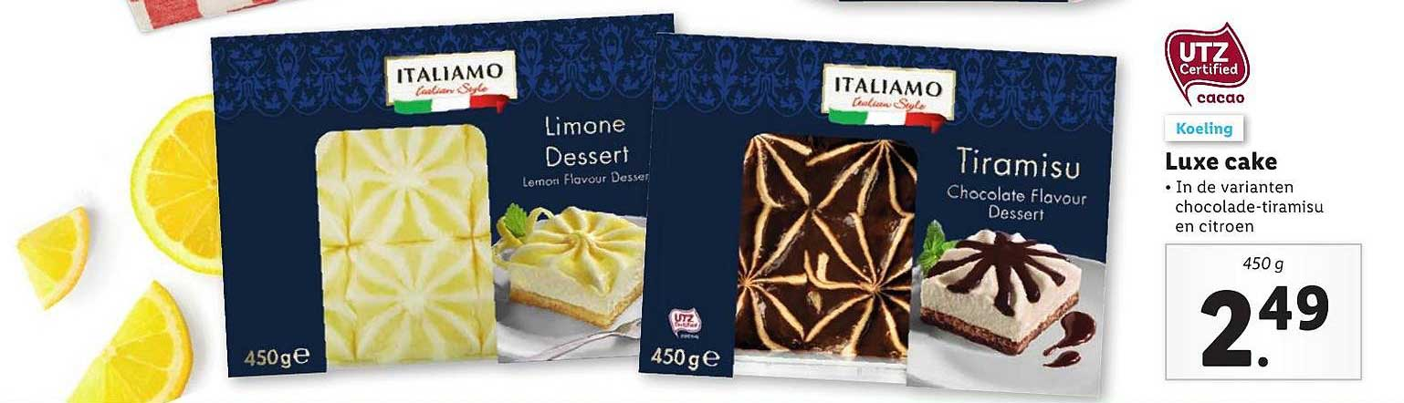 Lidl Luxe Cake