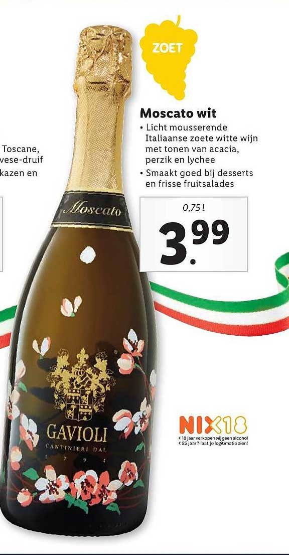 Lidl Moscato Wit