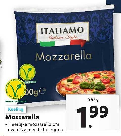 Lidl Mozzarella