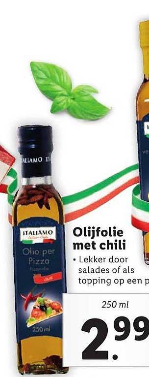Lidl Olijfolie Met Chili