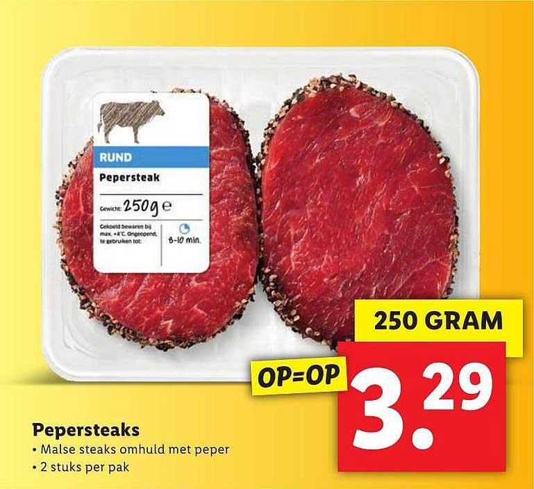 Lidl Pepersteaks