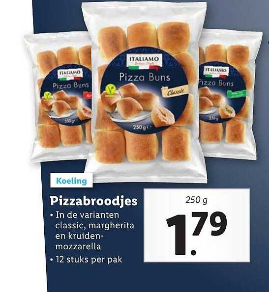 Lidl Pizzabroodjes