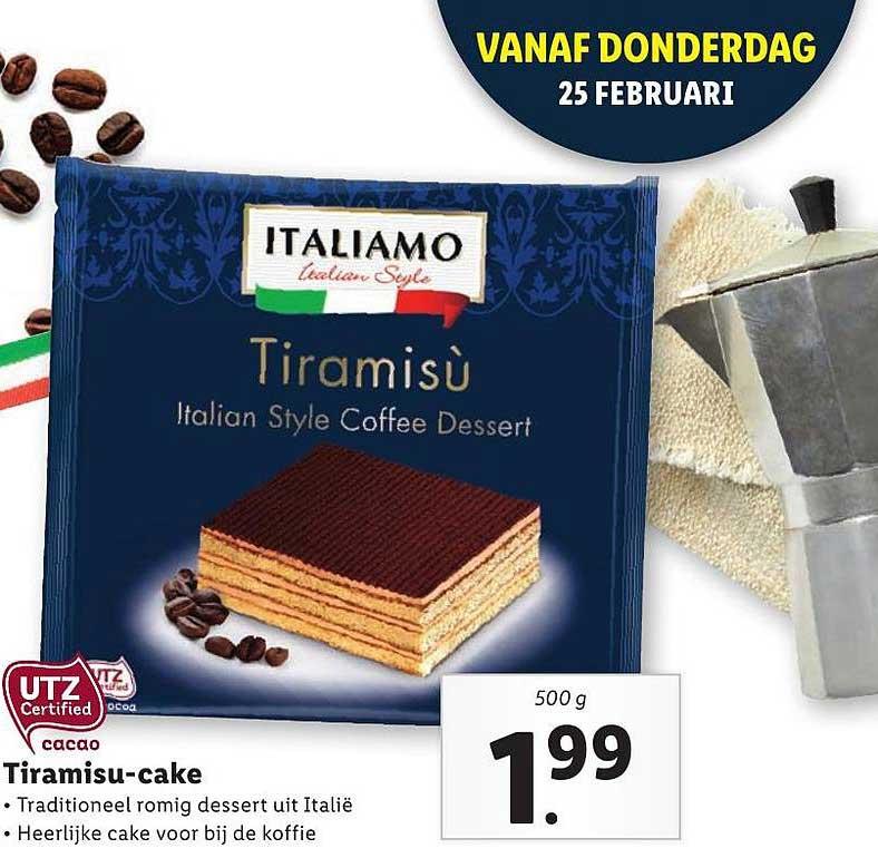 Lidl Tiramisu-Cake