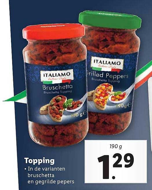 Lidl Topping