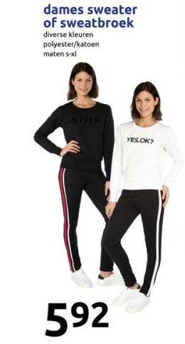 Australian dames joggingbroek, dames sweater folder