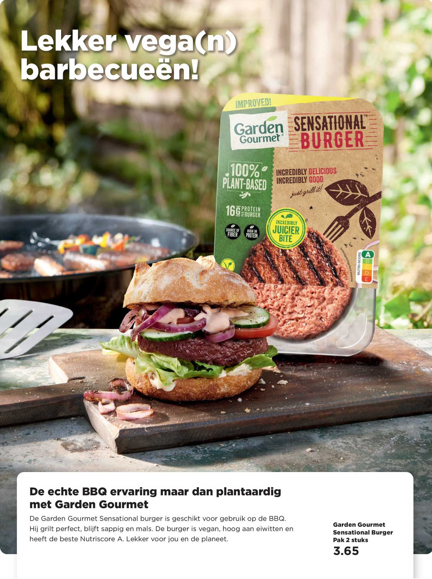 PLUS Garden Gourmet Sensational Burger