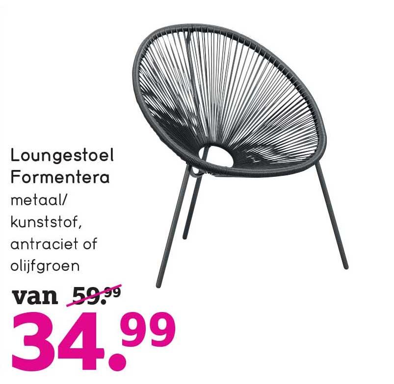 Leen Bakker Loungestoel Formentera