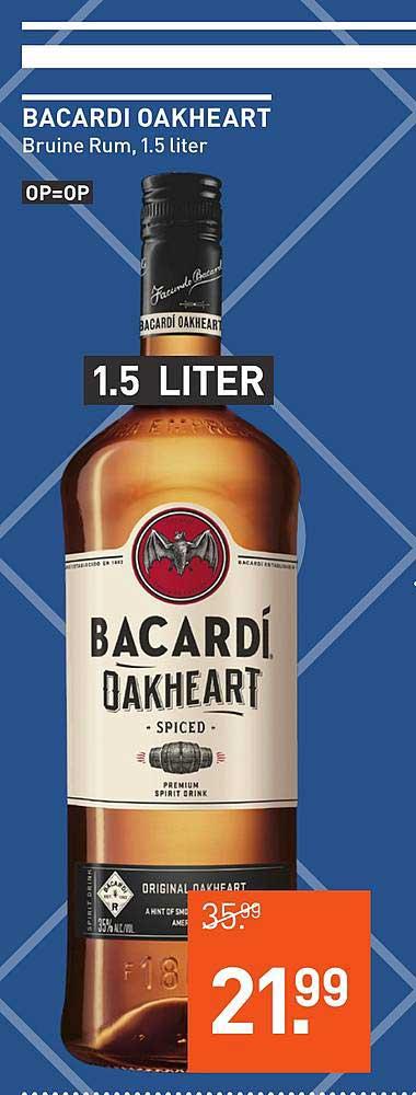 Gall & Gall Bacardi Oakheart