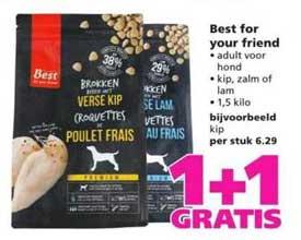 Ranzijn Tuin & Dier Best For Your Friend 1+1 Gratis