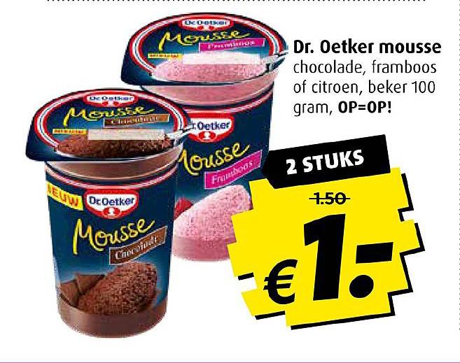 Boni Dr Oetker Mousse