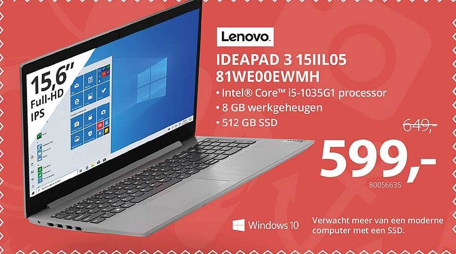 Paradigit Ideapad 3 15IIL05 81WE00EWMH