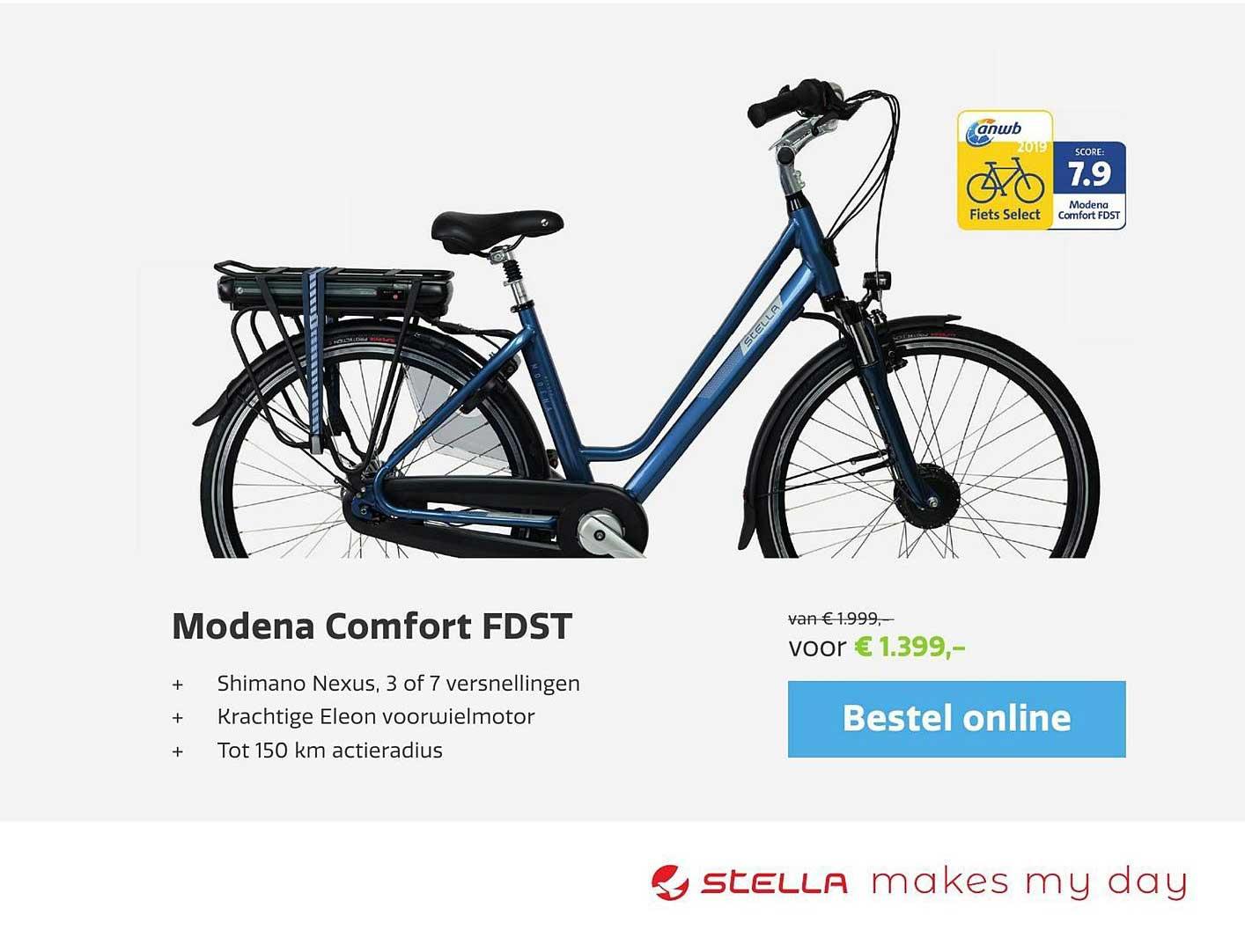 Stella Fietsen Modena Comfort FDST