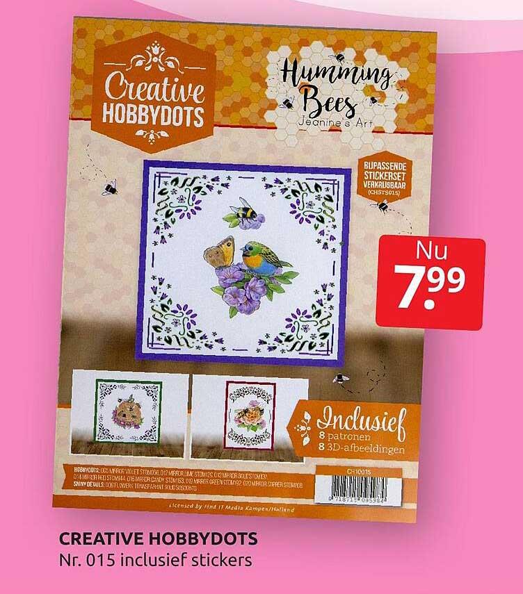 BoekenVoordeel Creative Hobbydots Nr. 015