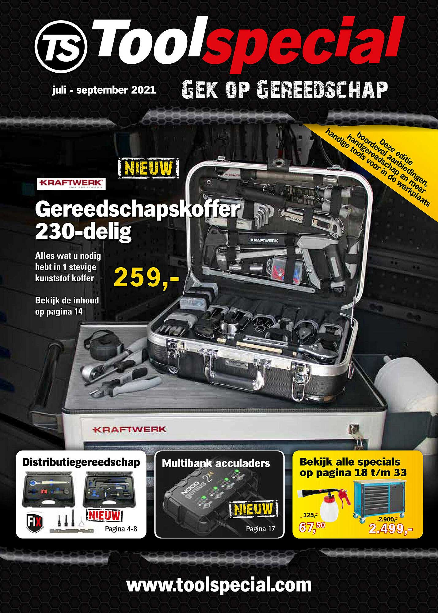 Toolspecial Gereedschapskoffer 230-Delig