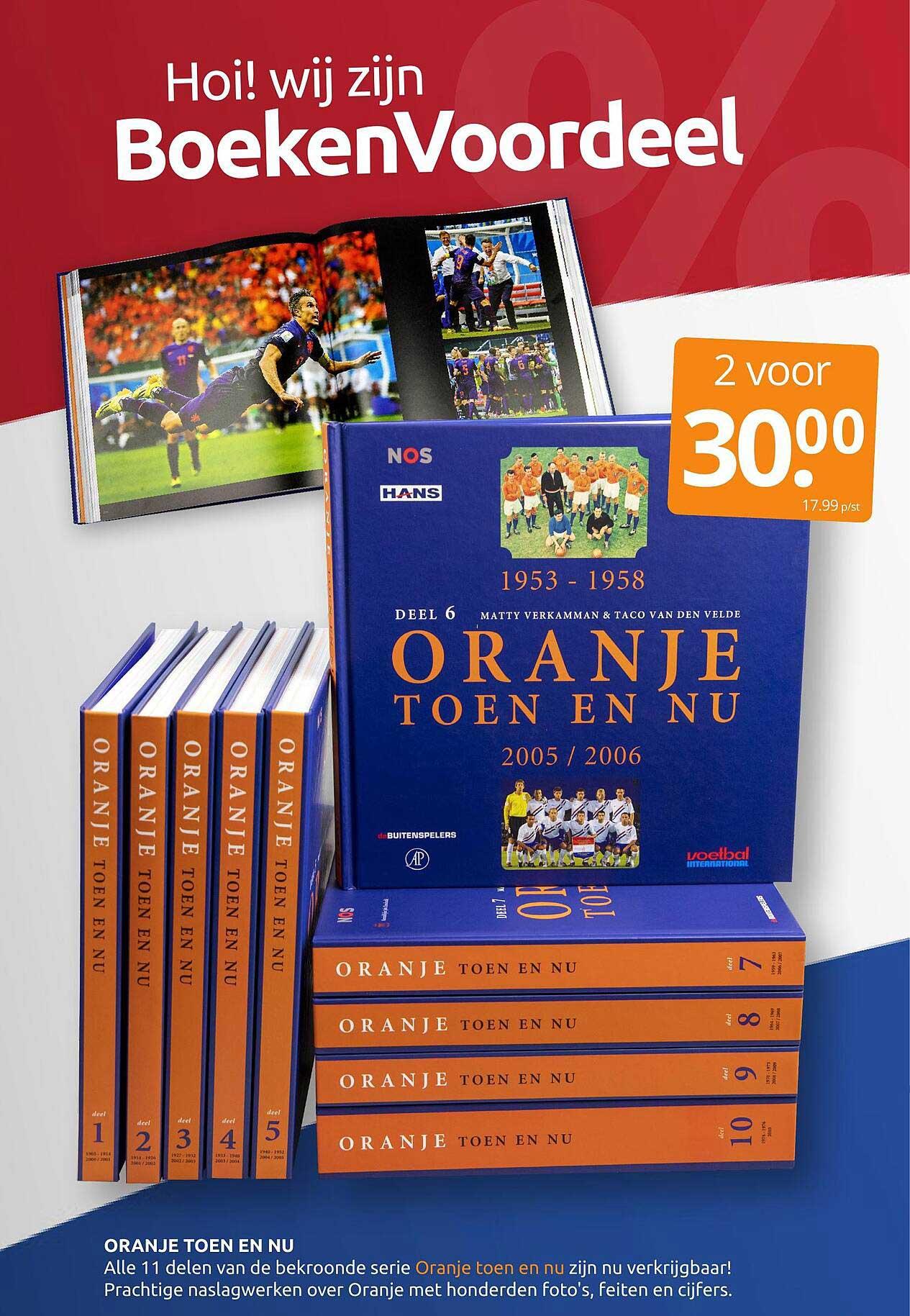 BoekenVoordeel Oranje Toen En Nu