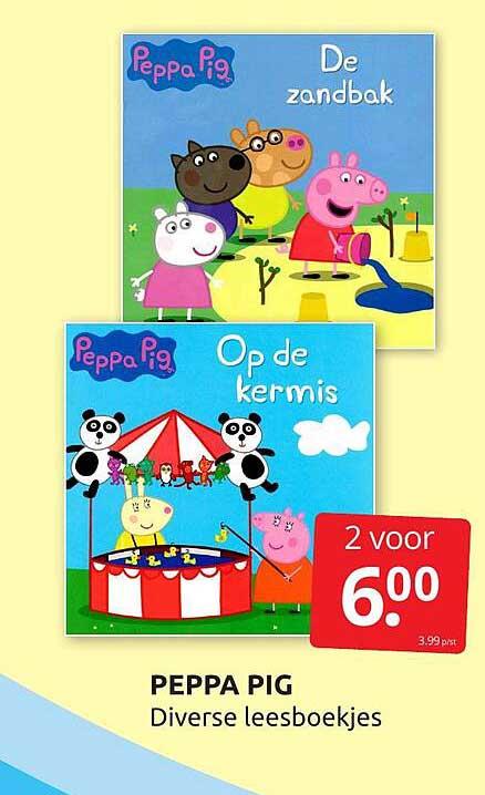 BoekenVoordeel Peppa Pig Diverse Leesboekjes
