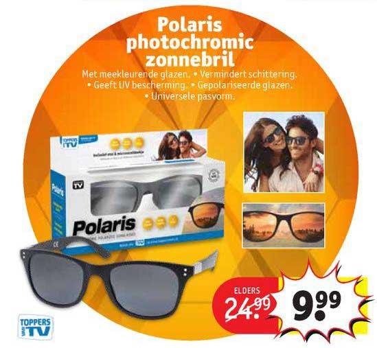 Kruidvat Polaris Photochromic Zonnebril