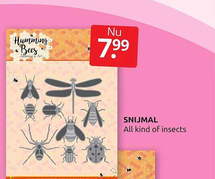 BoekenVoordeel Snijmal All Kind Of Insects