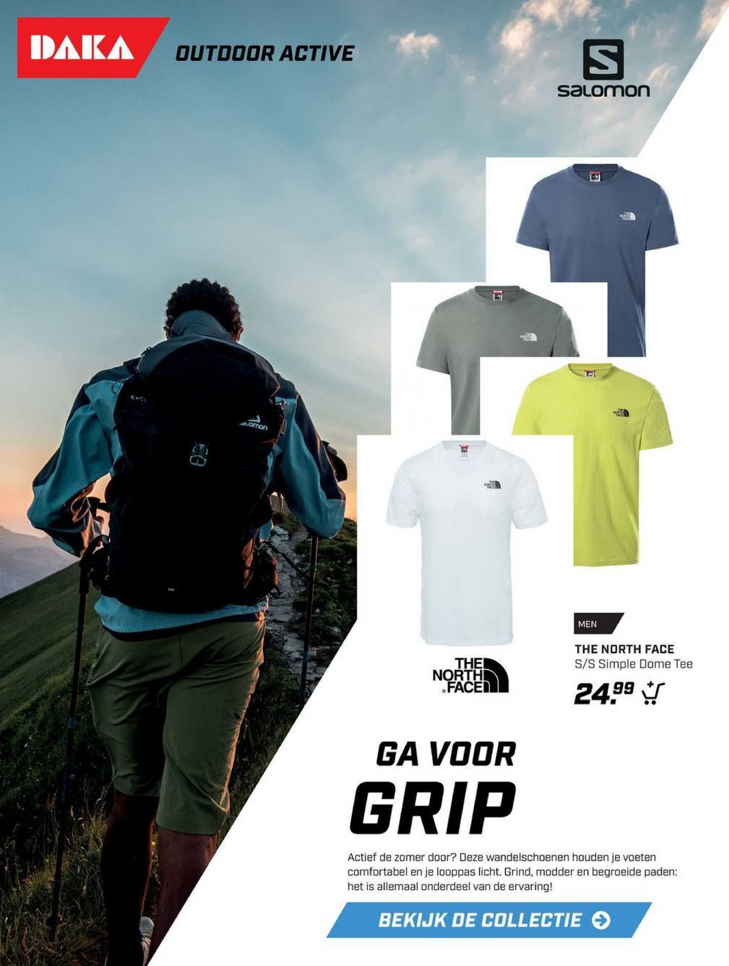 DAKA The North Face S-S Simple Dome Tee