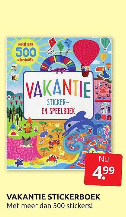 BoekenVoordeel Vakantie Stickerboek