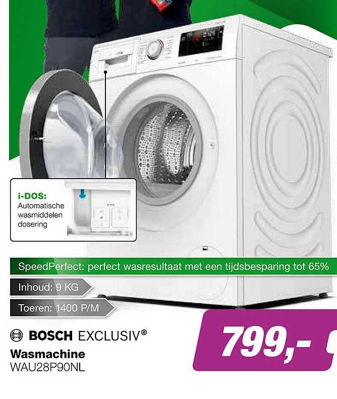 EP Bosch Wasmachine WAU28P90NL