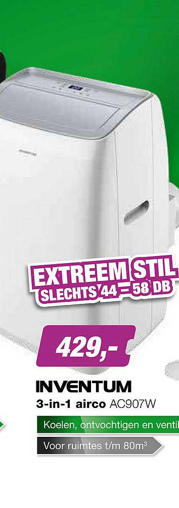 EP Inventum 3-in-1 Airco AC907W