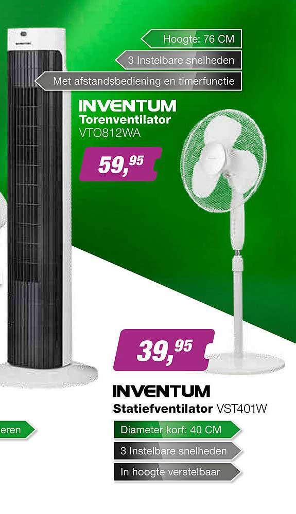 EP Inventum Statiefventilator VST401W