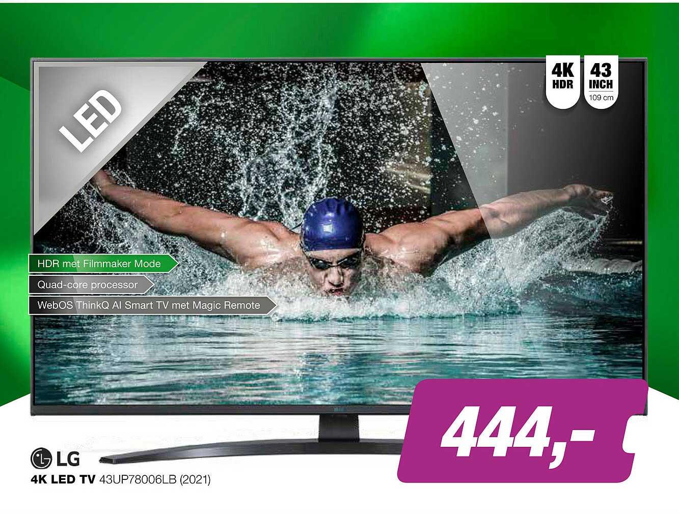 EP LG 4K Led TV 43UP78006LB (2021)