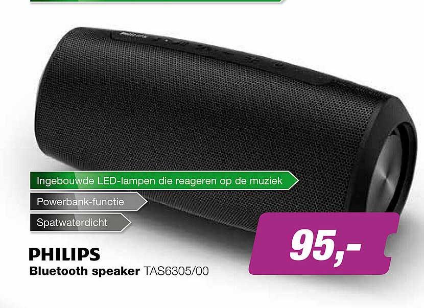 EP Philips Bluetooth Speaker TAS6305-00