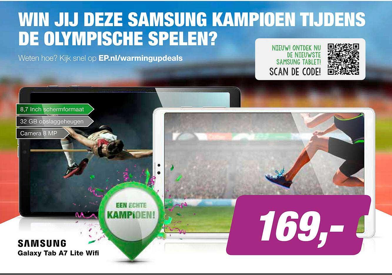 EP Samsung Galaxy Tab A7 Lite Wifi