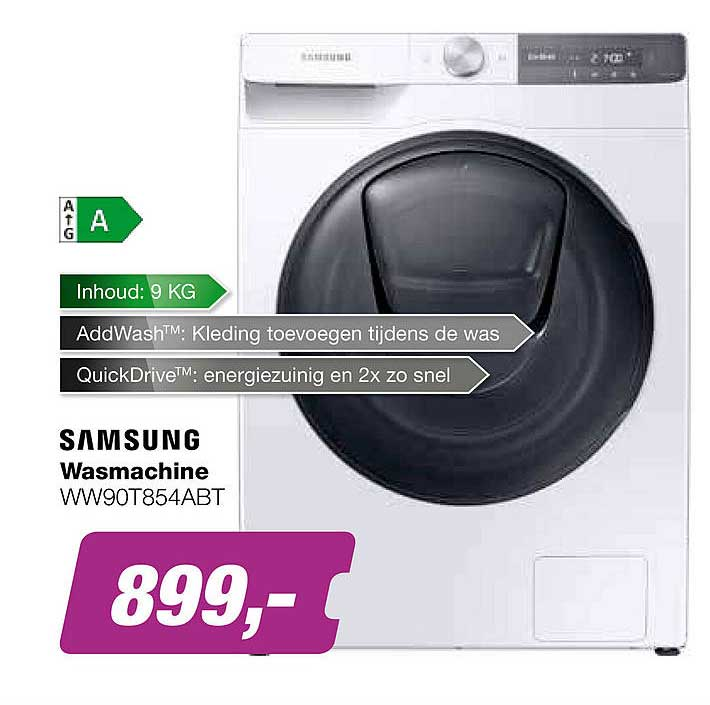 EP Samsung Wasmachine WW90T854ABT