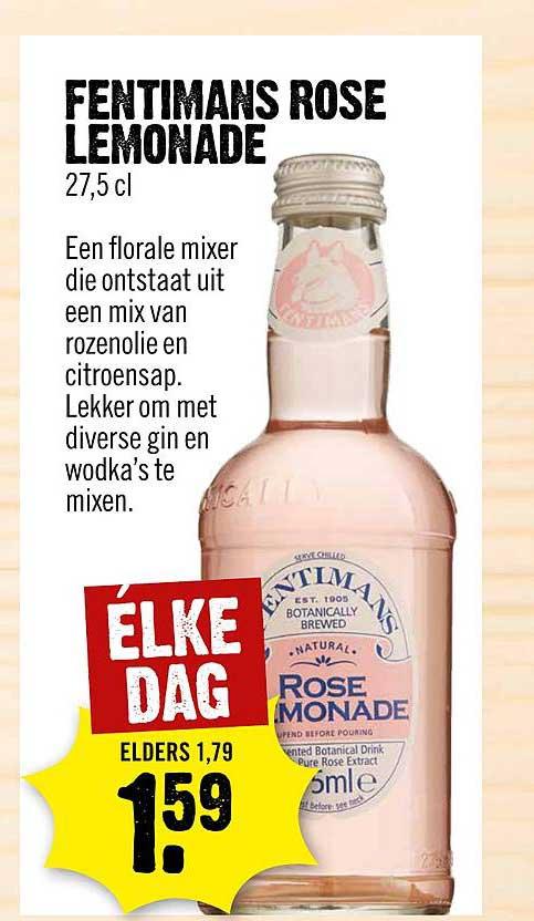 Dirck III Fentimans Rose Lemonade