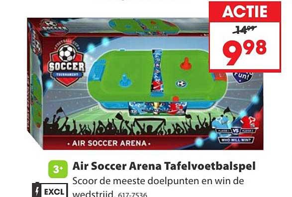 Top 1 Toys Air Soccer Arena Tafelvoetbalspel