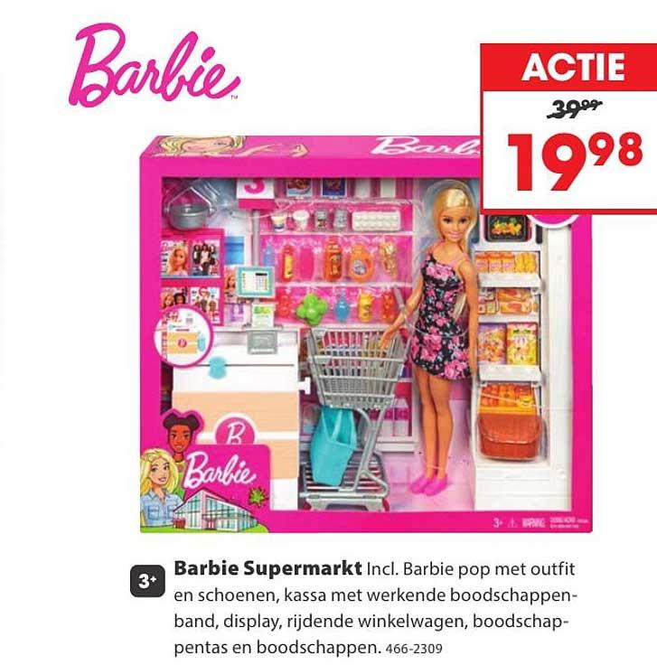 Top 1 Toys Barbie Supermarkt