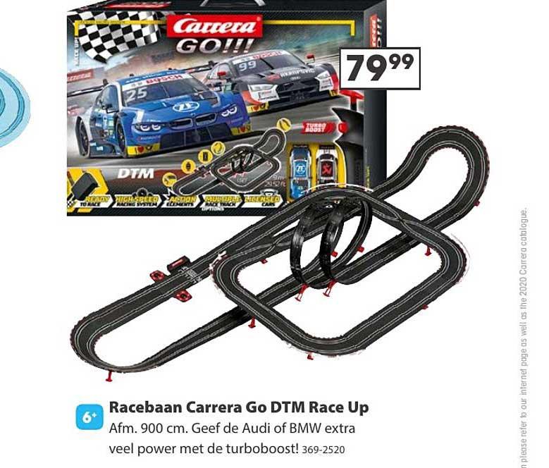 Top 1 Toys Racebaan Carrera Go Dtm Race Up