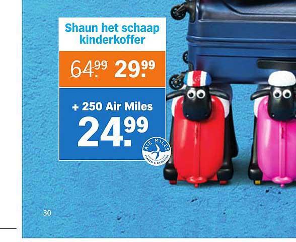 Albert Heijn Shaun Het Schaap Kinderkoffer