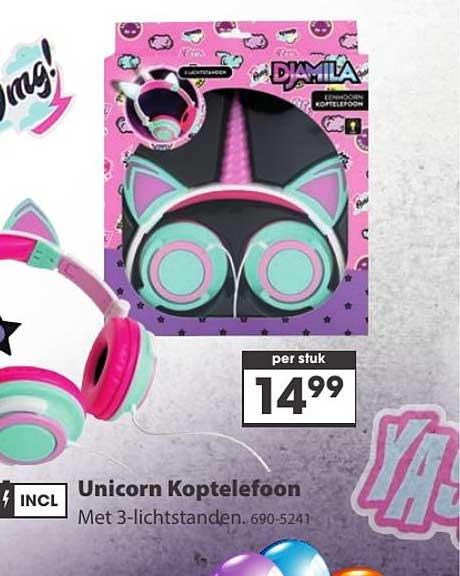 Top 1 Toys Unicorn Koptelefoon