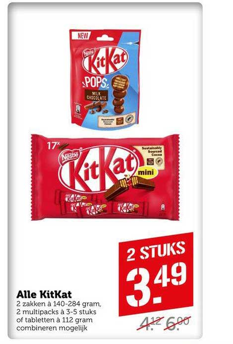 Coop Compact Alle KitKat