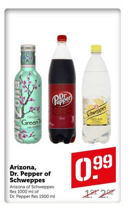 Coop Compact Arizona, Dr. Pepper Of Schweppes