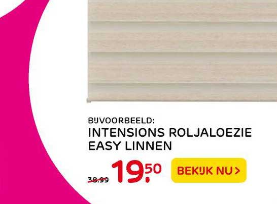 Praxis Intensions Roljaloezie Easy Linnen