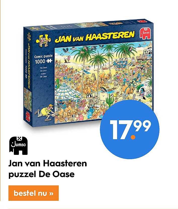 Blokker Jan Van Haasteren Puzzel De Oase