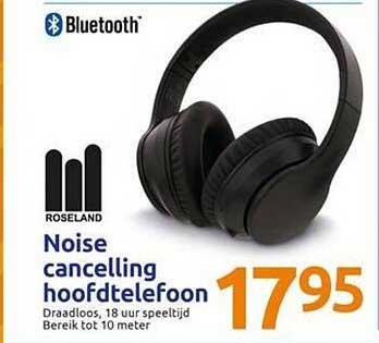 Action Roseland Noise Cancelling Hoofdtelefoon