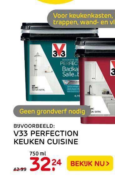 Praxis V33 Perfection Keuken Cuisine